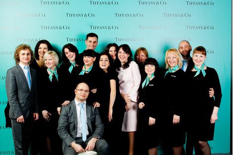 Открытие бутика Tiffany & Co. в ГУМе