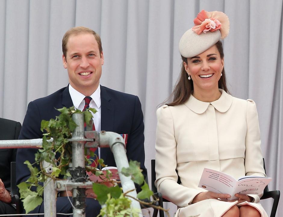 Принц Уильям и Кейт Миддлтон: фото 2014