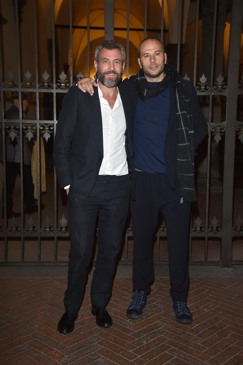 Stefano Pitigliani e Federico Curradi ( Peuterey Creative Director)