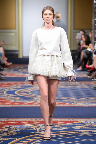 Показ осенне-зимней коллекции Ruban на Mercedes-Benz Fashion Week RussiaПоказ осенне-зимней коллекции Ruban на Mercedes-Benz Fashion Week Russia | галерея [2] фото [18]