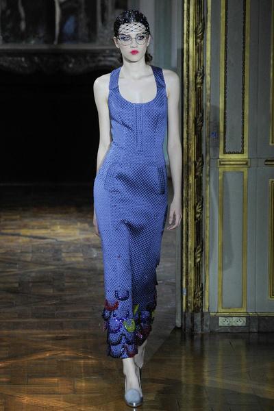Показ Ulyana Sergeenko на Неделе высокой моды | галерея [1] фото [17]