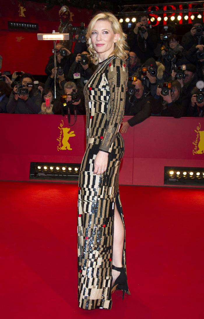 Кейт Бланшетт на премьере фильма «Золушка»