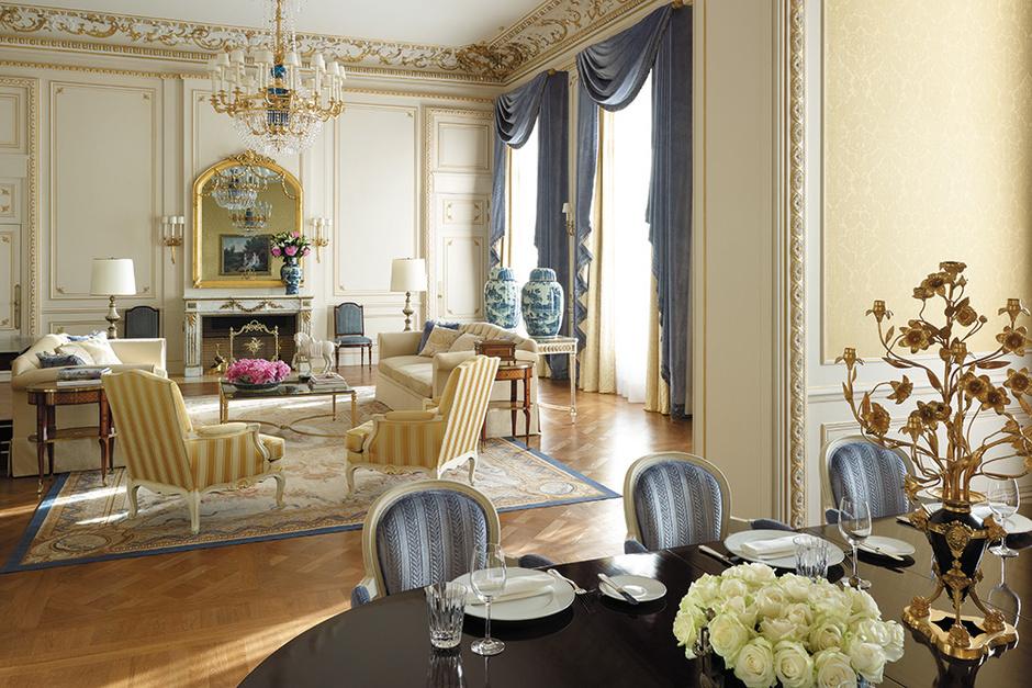 Сьют Imperiale гостиницы Shangri-La Paris