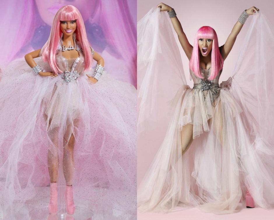 Барби - Ники Минаж куклы-знаменитости
