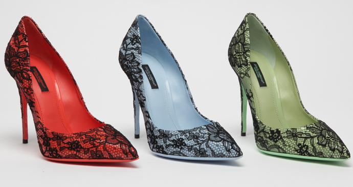 Dolce & Gabbana презентовали новую коллекцию туфель Kate фото 3
