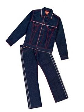 Джинсы 501 и куртка из коллекции Готье для Levi's