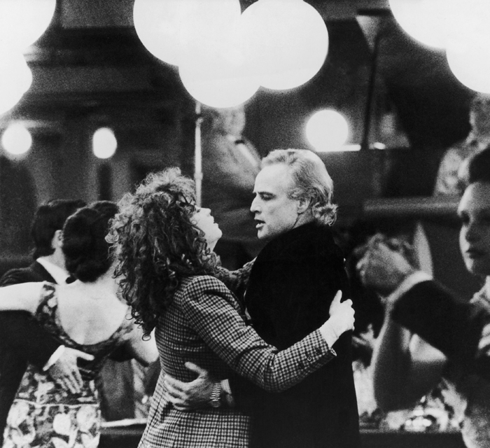 Мария Шнайдер и Марлон Брандо в фильме «Последнее танго в Париже»