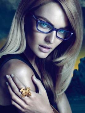 Рекламная кампания Versace Eyewear осень 2011