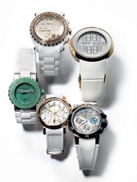 Часы: каучук и драгоценности