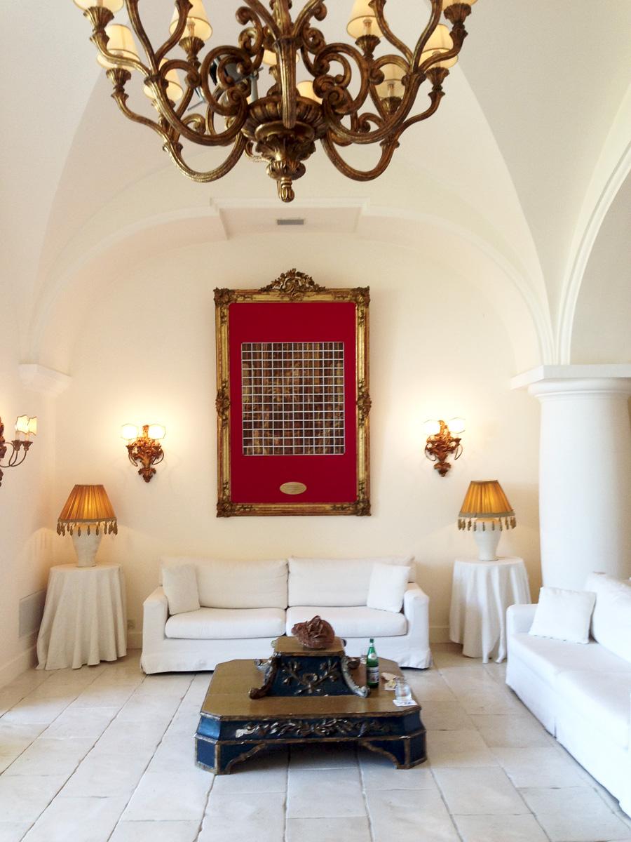 Лобби отеля Capri Palace