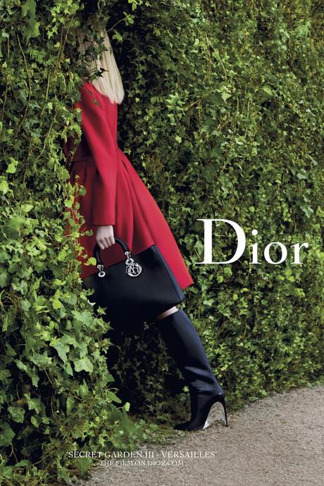 Рекламная кампания «Secret Garden» от Christian Dior: фото