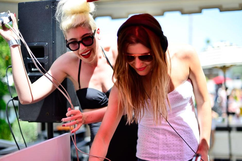вечеринка GUESS в рамках музыкального фестиваля Coachella 2014