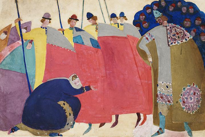 Выставка Федора Федоровского в Государственной Третьяковской галерее выставки апреля