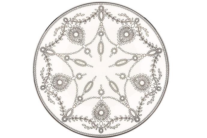 Тарелка из коллекции Empire Pearl White