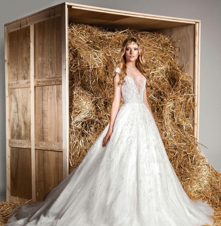 Роскошные свадебные платья: фото