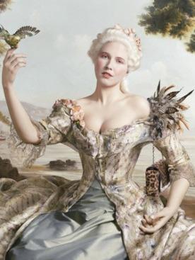 Лукбук осенне-зимней коллекции Christian Louboutin 2011