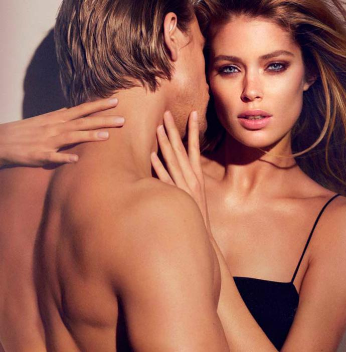 Даутцен Крез лицо аромата Reveal от Calvin Klein
