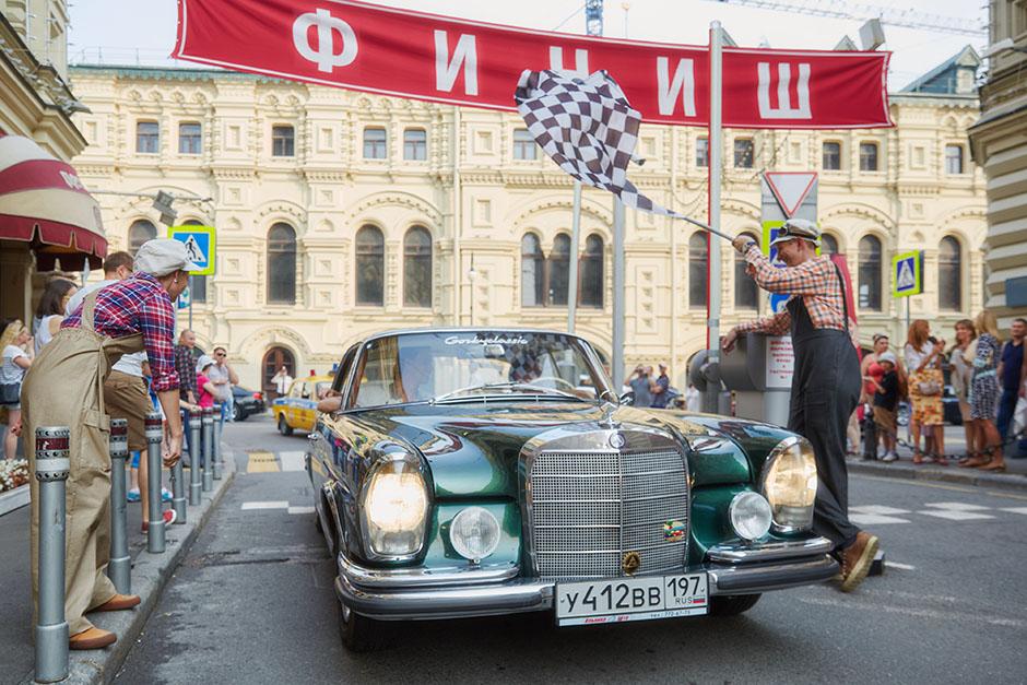 В Москве прошло третье ГУМ-Авторалли