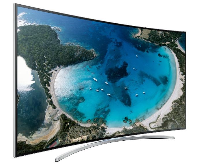 телевизор с изогнутым экраном от samsung