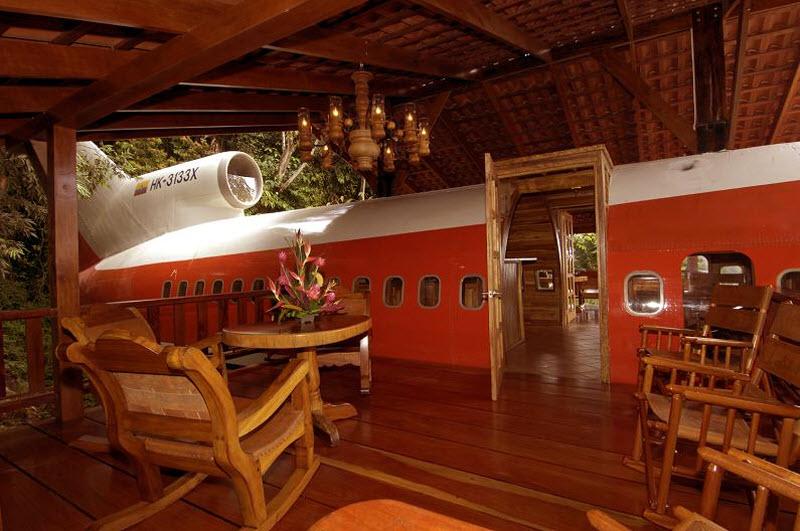 Отель-«самолет» Costa Verde в Коста-Рике фото 2
