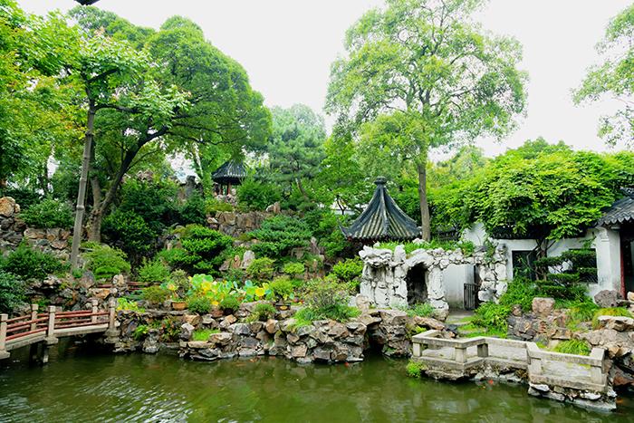 Сад Ююань самые красивые сады мира фото