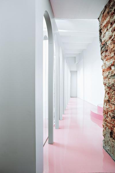 Жизнерадостный интерьер офиса: проект в деталях | галерея [1] фото [1]