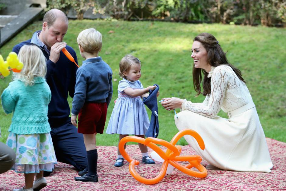 Семья принца Уильяма в Канаде