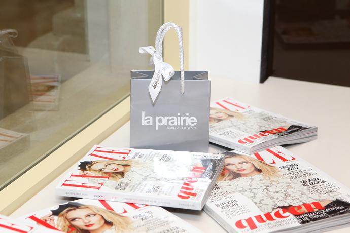 Открытие пространства красоты от марки La Prairie в ТЦ Крокус Сити Молл