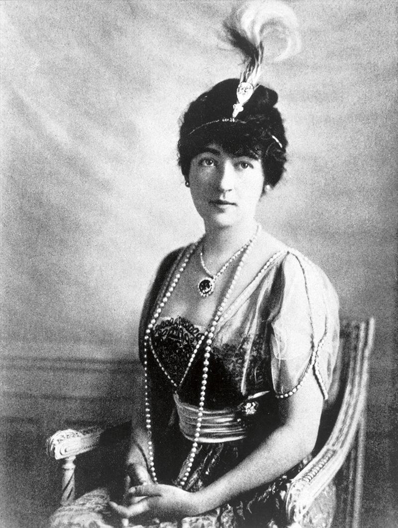 Архивный портрет частной заказчицы Дома Cartier