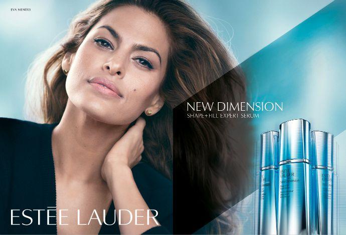 Ева Мендес - в рекламной кампании New Dimension от ESTÉE LAUDER