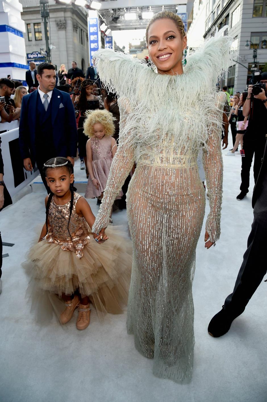Бейонсе с дочерью Блю Айви