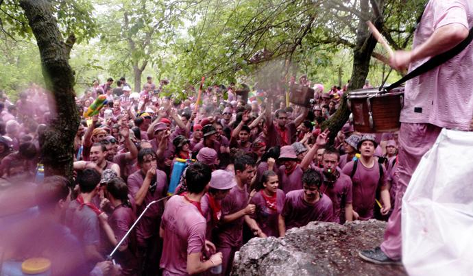 Винный фестиваль в Аро