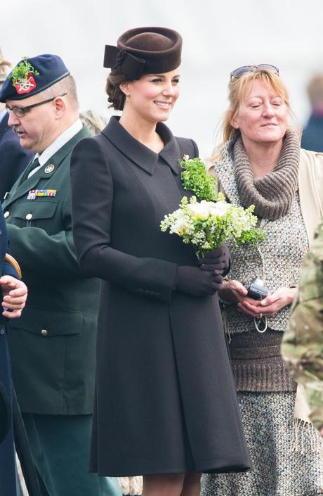 Кейт Миддлтон на параде в честь Дня святого Патрика