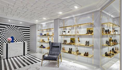 В Лондоне открылся первый флагманский магазин Aquazzura | галерея [1] фото [6]