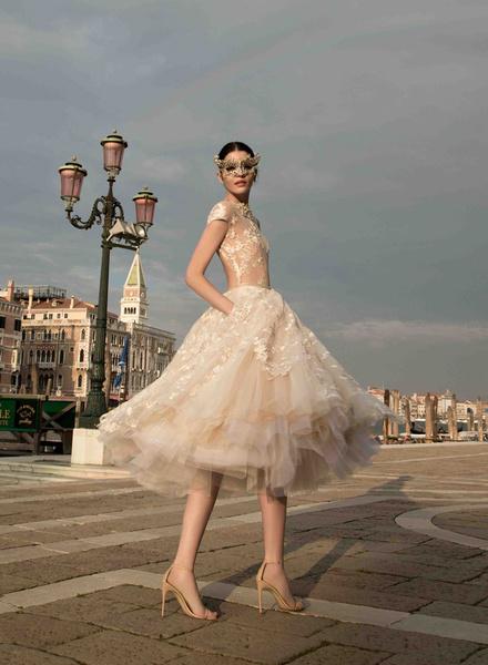 12 коротких платьев для невесты | галерея [1] фото [10]