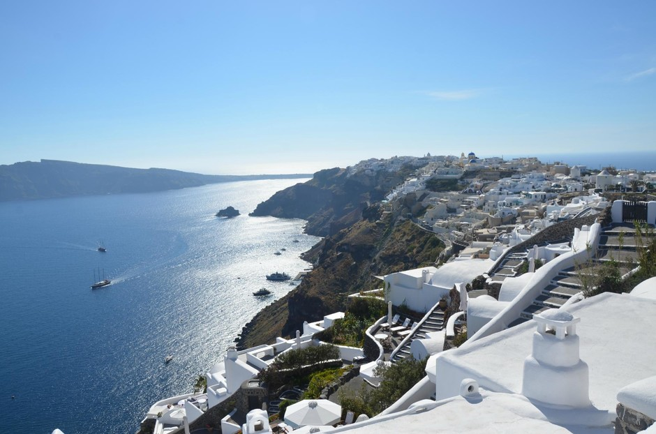 2. Санторини, Греция