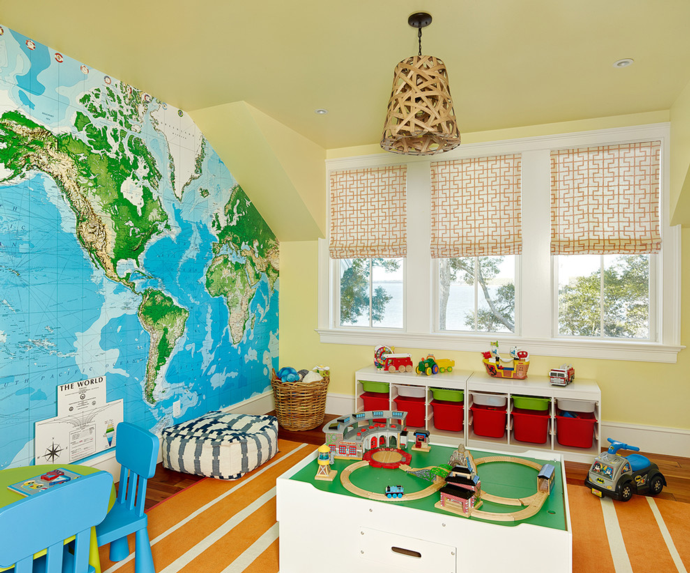 Карта в детской