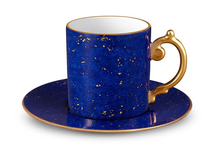Чашка с блюдцем Lapis, L'objet