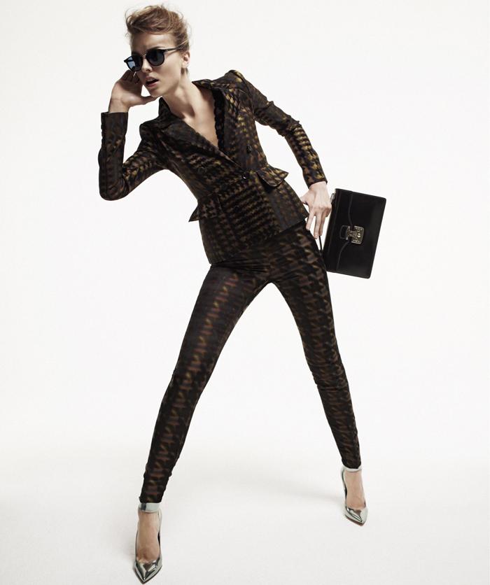 How-to-wear: с чем носить твидовый жакет