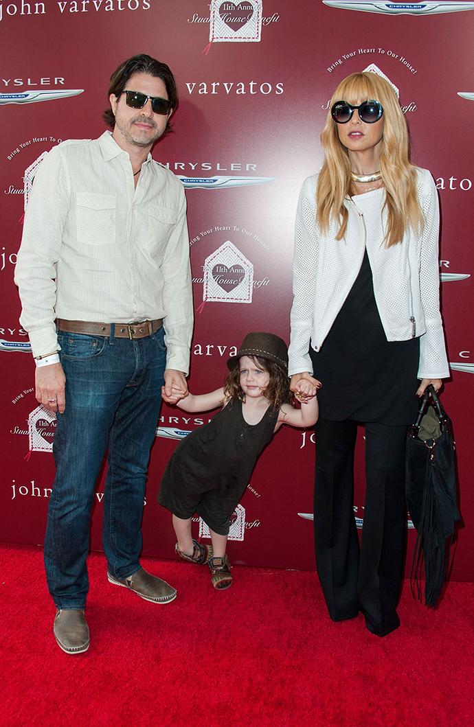 Рэйчел Зои и Роджер Берман с дочерью