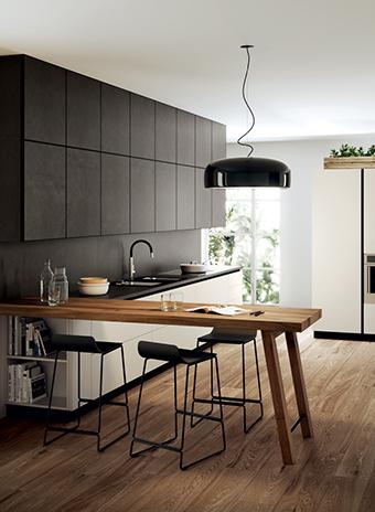 Кухня Scenery Gres от Scavolini