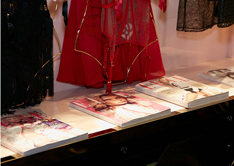 Открытие бутика Agent Provocateur в галерее «Времена года»
