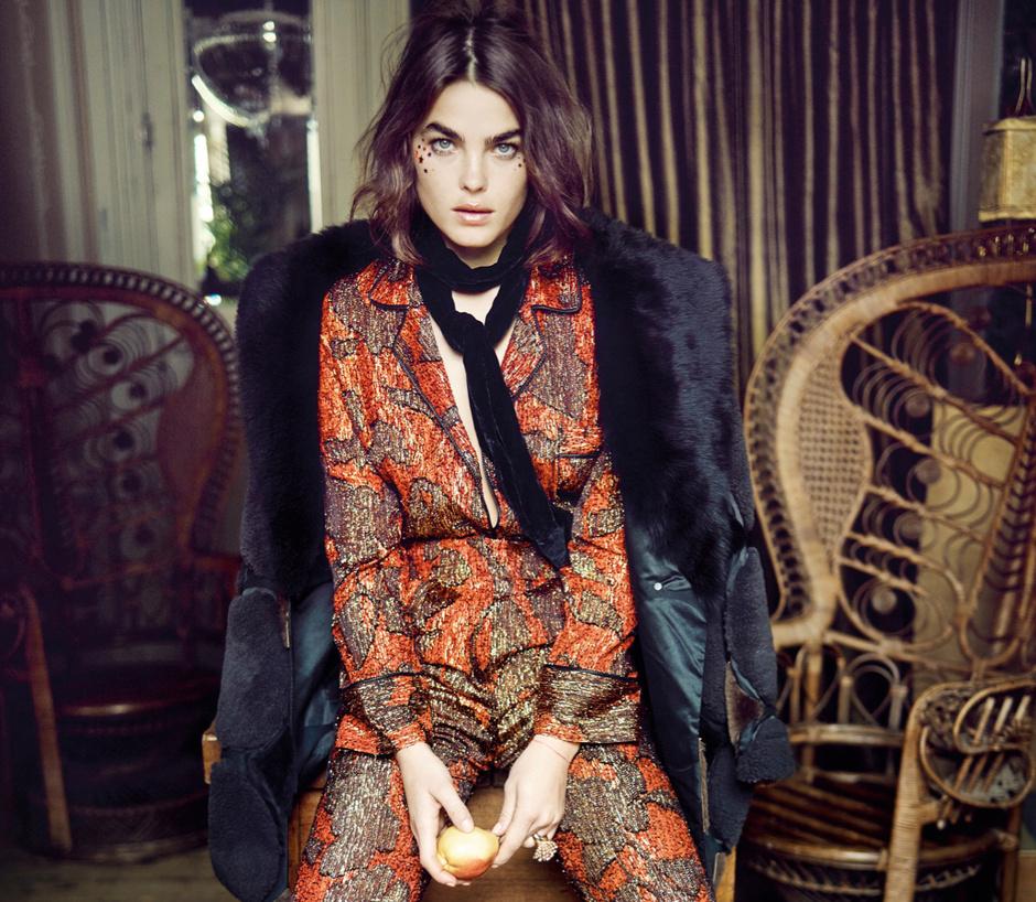 How-to-wear: узкий шарф