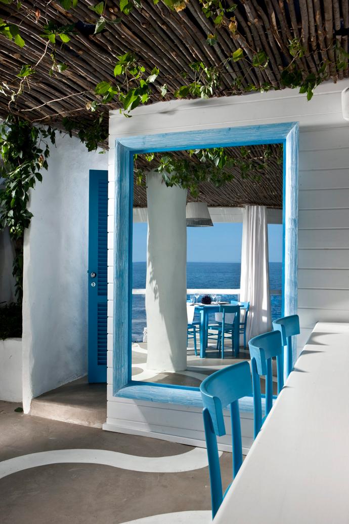 Пляжный клуб и ресторан Il Riccio