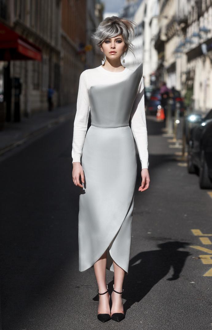 Неделя моды в Париже: Stret style