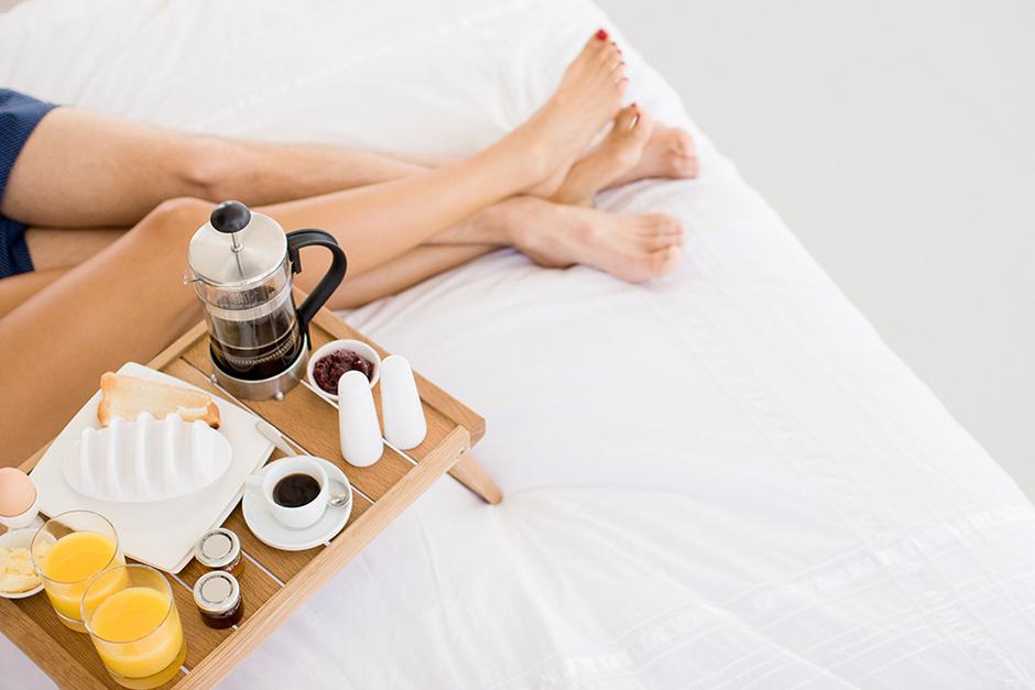 Романтический завтрак в постель