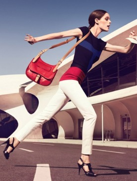 Коко Роша (Coco Rocha) в рекламной кампании Longchamp