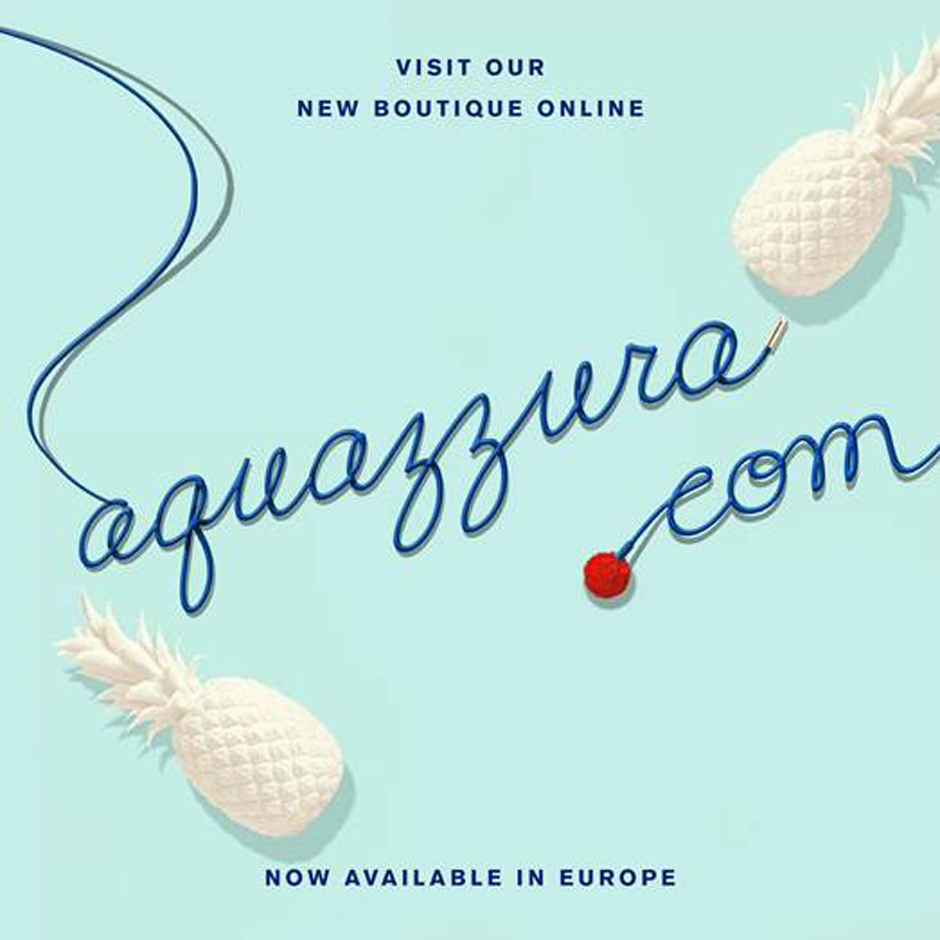 Aquazzura запустил интернет-магазин