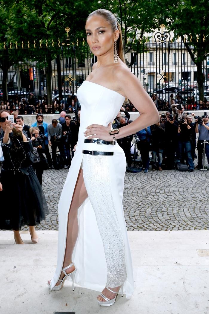 Стиль Дженнифер Лопес: платье от Versace