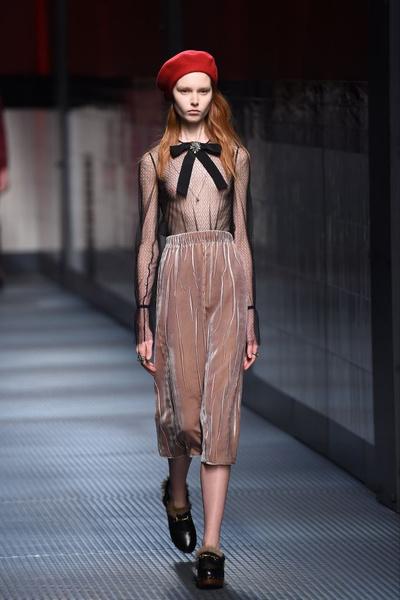 Показ Gucci на Неделе моды в Милане | галерея [1] фото [31]